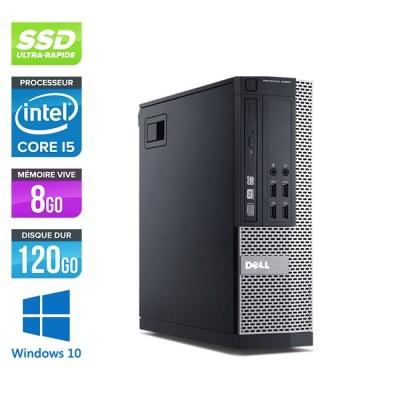 Dell Optiplex 9010 SFF - i5 - 8Go - 120Go SSD - W10