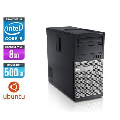 Dell Optiplex 9020 Tour - i5 - 8Go - 500Go - Linux