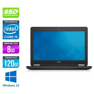 Dell Latitude E5250 - i5 - 8Go - 120Go SSD - Windows 10