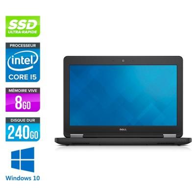 Dell Latitude E5250 - i5 - 8Go - 240Go SSD - Windows 10