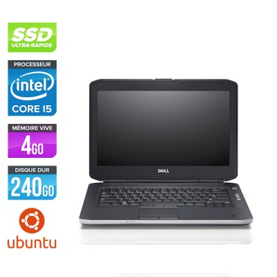 Dell Latitude E5430 - i5 - 4Go - 240 Go SSD - Linux