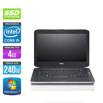 Dell Latitude E5430 - i5 - 4Go - 240 Go SSD - Windows 7 pro