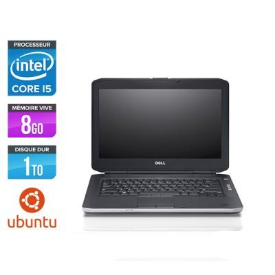 Dell Latitude E5430 - i5 - 8Go - 1To HDD - Ubuntu - Linux