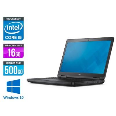 Dell latitude E5540 - i5 - 16Go - 500 Go HDD - Windows 10