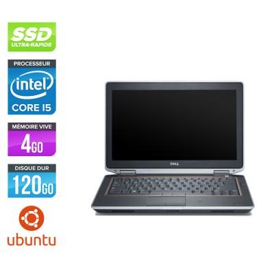 Dell Latitude E6320 -  i5 - 4Go - 120Go SSD - Ubuntu