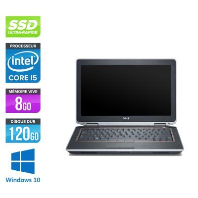 Dell Latitude E6320 -  i5 - 8Go - 120Go SSD - Windows 10