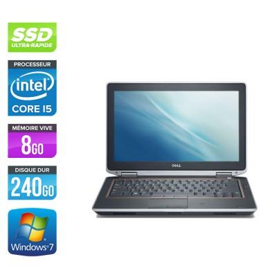Dell Latitude E6320 -  i5 - 8Go - 240Go SSD - Windows 7