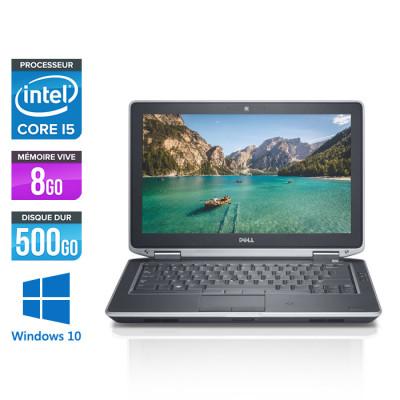 Pc portable reconditionné - Dell Latitude E6330 - Core i5-3320M - 8Go - 500 Go HDD- windows 10