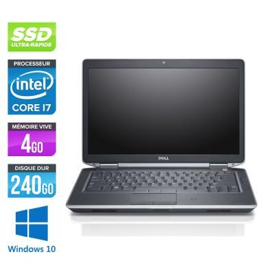 Dell E6430S - Core i7 - 4Go - 240Go SSD - Windows 10