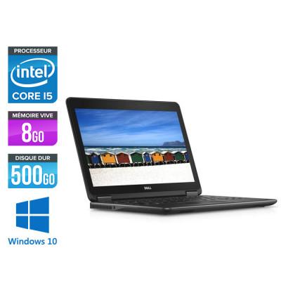 Ordinateur portable reconditionné - Dell Latitude E7240 - Core i5 - 8 Go - 500Go HDD - Windows 10