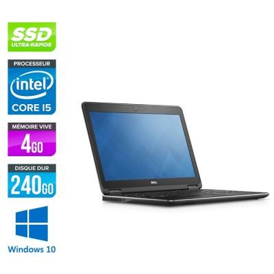 Dell Latitude E7250 - i5 - 4Go - 240Go SSD - Windows 10