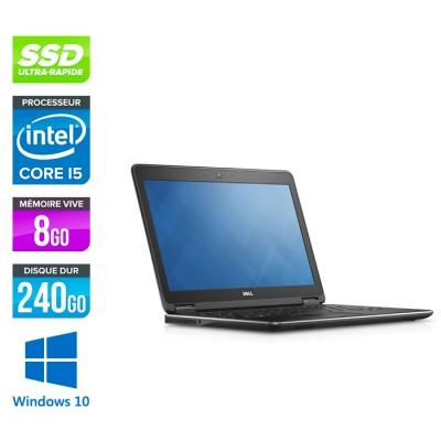 Dell Latitude E7250 - i5 - 8Go - 240Go SSD - Windows 10