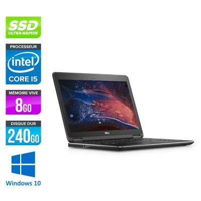 Dell Latitude E7250 - Pc portable reconditionné - i5 - 8Go - 240Go SSD - Windows 10