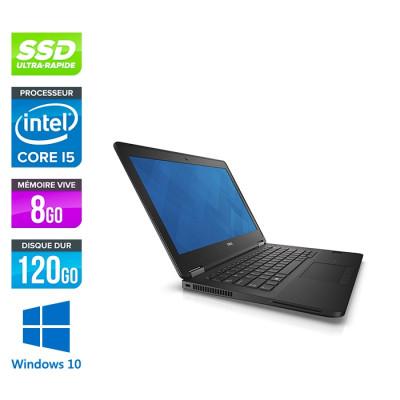 Dell Latitude E7270 - i5 - 8Go - 120Go SSD - Windows 10