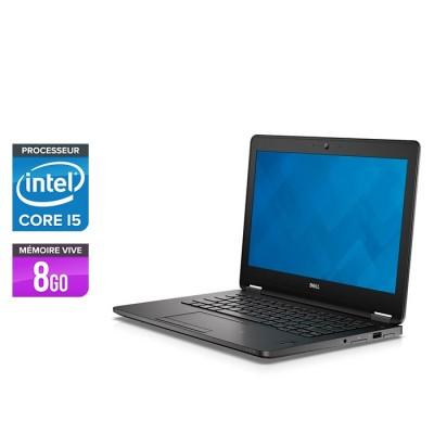 Dell Latitude E7270 - i5 - 8Go - Sans OS