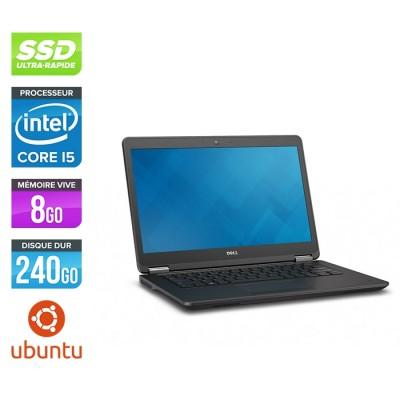 Dell E7450 - Core i5 - 8Go - 240Go SSD - Linux