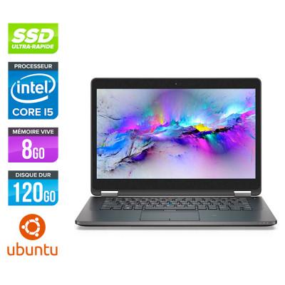 Dell E7470 - Core i5 - 8 Go - 120Go SSD - Windows 10