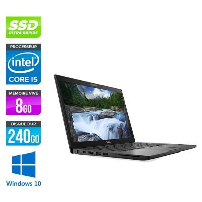 Pc portable reconditionné - Dell 7490 - Core i5 - 8 Go - 240Go SSD - Windows 10