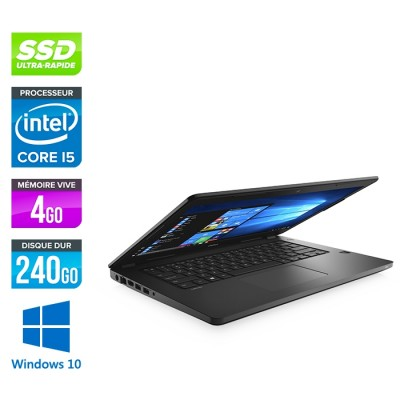 Dell Latitude 3480 - i5 6200u - 4Go - 240Go SSD - Windows 10