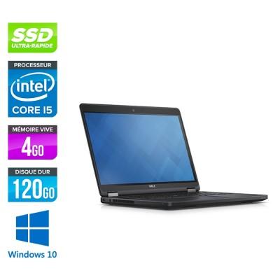 Dell Latitude E5450 - i5 - 4Go - 120 Go SSD - Windows 10