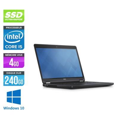 Dell Latitude E5450 - i5 - 4Go - 240 Go SSD - Windows 10