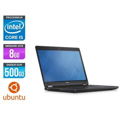 Dell Latitude E5450 - i5 - 8Go - 500 Go HDD - Linux