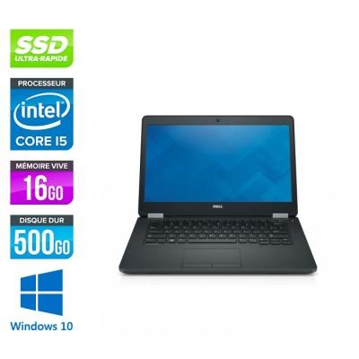 Dell Latitude E5470 - i5 6300U - 16Go DDR4 - 500 Go SSD - Windows 10-2