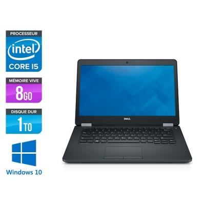 Pc portable reconditionné - Dell Latitude E5470 - i5 6200U - 8Go DDR4 - 1To HDD - Windows 10-2