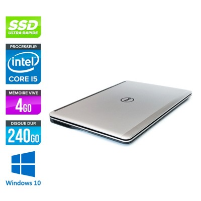 Dell E7240 - Core i5 - 4Go - 240Go SSD - Windows 10