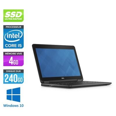 Dell E7240 - Core i5 - 4 Go - 240Go SSD - Windows 10 -