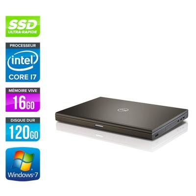 Dell Precision M4800 - i7 - 16Go - 120Go SSD - NVIDIA Quadro K2100M - Windows 7