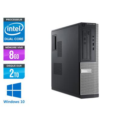 Dell Optiplex 3010 DT - G640 - 8Go - 2To - Windows 10