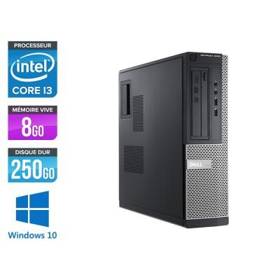 Pc de bureau reconditionné - Dell Optiplex 3010 DT - i3 - 8Go - 250Go HDD - Windows 10