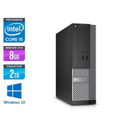 Dell Optiplex 3020 SFF - i5 - 8Go - 2To - W10