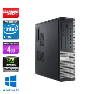 Dell 7010 DT - Gaming - i5 - 4Go - 500Go HDD - GT 1030 - Windows 10 PRO