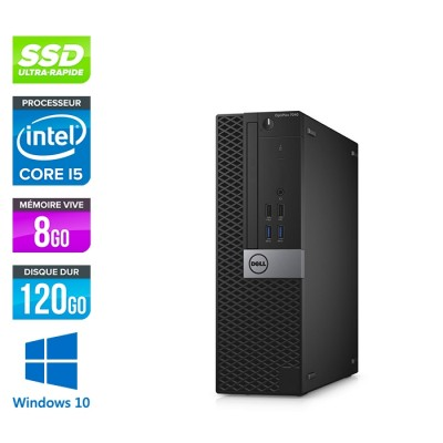 Dell Optiplex 7040 SFF - i5 - 8Go - 120Go SSD - Win 10