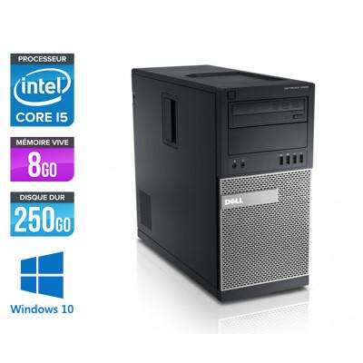 Dell Optiplex 790 Tour - i5 - 8Go - 250Go HDD - Windows 10