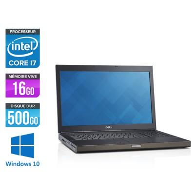 Dell Precision M6800 - i7 - 16Go - 500Go HDD - NVIDIA Quadro K3100M - Windows 10
