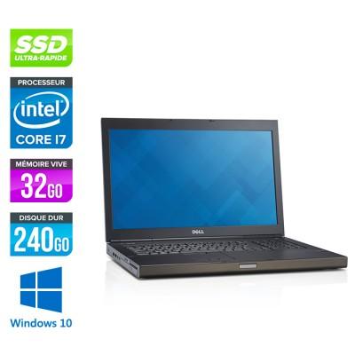 Dell Precision M6800 - i7 - 32Go - SSD - NVIDIA Quadro K4100M - Windows 10