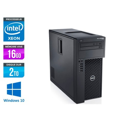 Dell T1700 - Xeon - 16Go - 2To - Quadro K2000 -W10