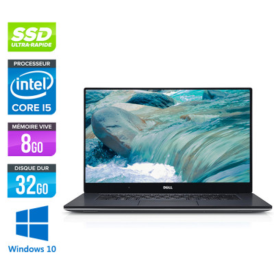 Dell XPS 15 - i5 - 8Go - 32Go SSD + 1To HDD - GTX 960M - Windows 10