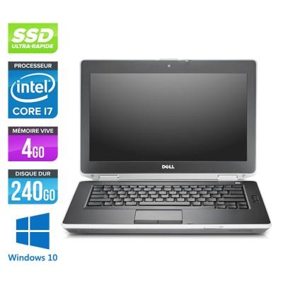 Dell Latitude E6430 - Core i7 - 4Go - 240Go SSD - Windows 10