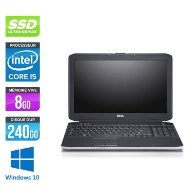 Dell E5530 - i5 - 8Go - SSD 240Go - 15.6'' - Windows 10