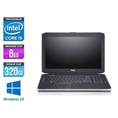 Dell E5530 - i5 -  8Go - 320 Go - 15.6'' - Windows 10