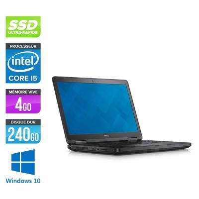 Dell Latitude E5540 - Core i5 - 4 Go - 240 Go SSD - Windows 10