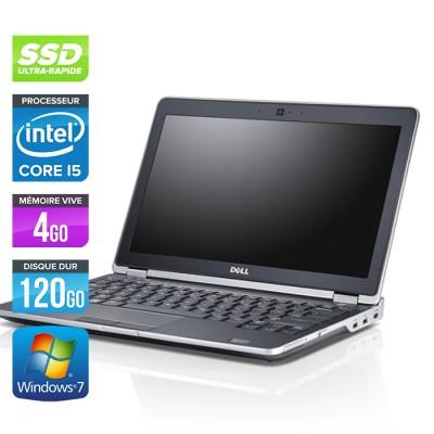 Dell Latitude E6230 - Core i5 - 4Go - 120Go SSD - Webcam