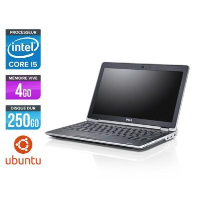 Dell Latitude E6230 - Core i5 - 4 Go - 250 Go HDD - Webcam - Ubuntu - Linux