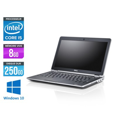 Dell Latitude E6230 - Core i5 - 8 Go - 250 Go HDD - Windows 10