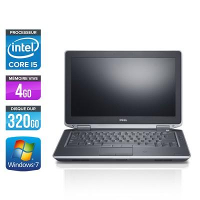 Dell Latitude E6330 - Core i5-3320M - 4Go - 320 Go HDD- windows 7
