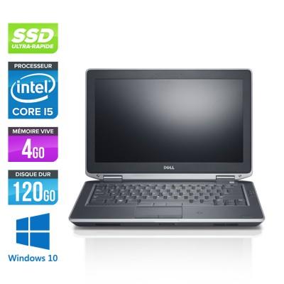 Dell Latitude E6330 - Core i5-3320M - 4Go - SSD 120Go - windows 10